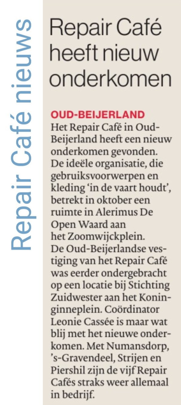 Algemeen Dagblad RC Oud-Beijerland